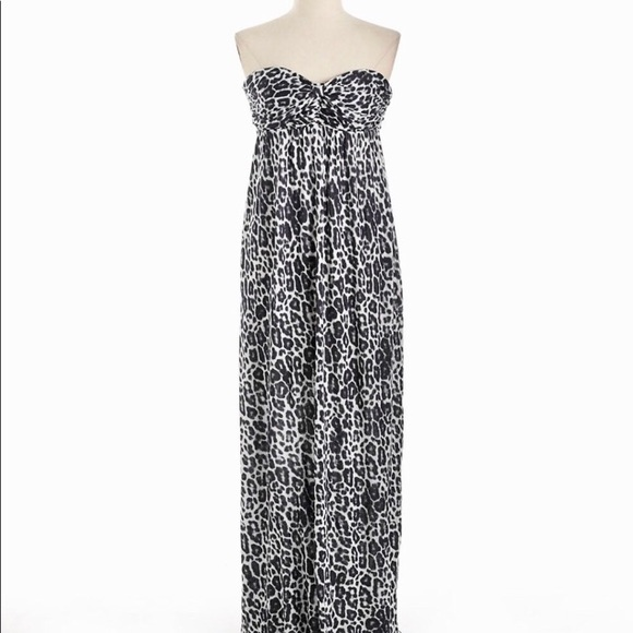 4530721a5616 Guess by Marciano Dresses   Nwt Guess Strapless Leopard Print Maxi ...